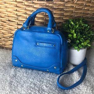 Olivia+Joy Blue Crossbody Handbag EUC